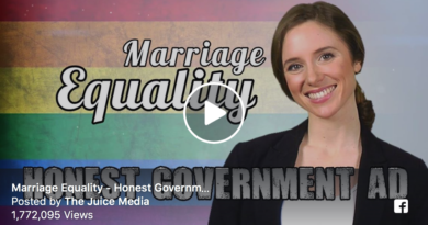 Marriage Equality Honest Government Ad