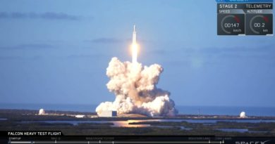 This is INCREDIBLE. Falcon Heavy test flight.