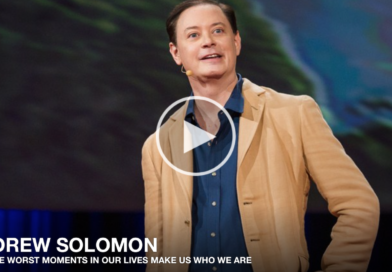 Forge meaning, build identity: Andrew Solomon